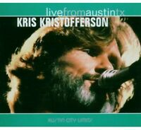 Kris Kristofferson - Live From Austin Texas [new Cd] Digipack Packaging on sale
