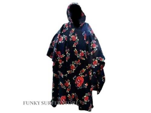 WOMENS HOODED FLEECE FESTIVAL PONCHO COAT JACKET BEACH CHANGING ROBE CAMPING