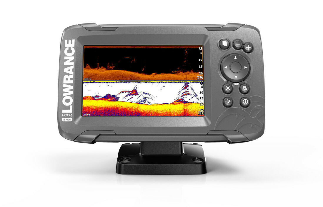 Lowrance Hook2-5x GPS SplitShot Echolot Fishfinder