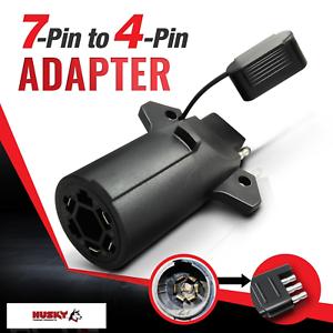HUSKY 7-Pin to 4 Way Adapter Tow Flat Blade Trailer Plug ...