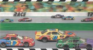 Wallpaper-Border-Bright-Colors-Race-Track-Sports-Cars-Racetrack