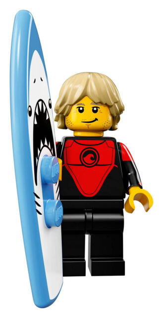 LEGO PROFESSIONAL SURFER COLLECTIBLE SERIES 17 MINIFIGURE 71018
