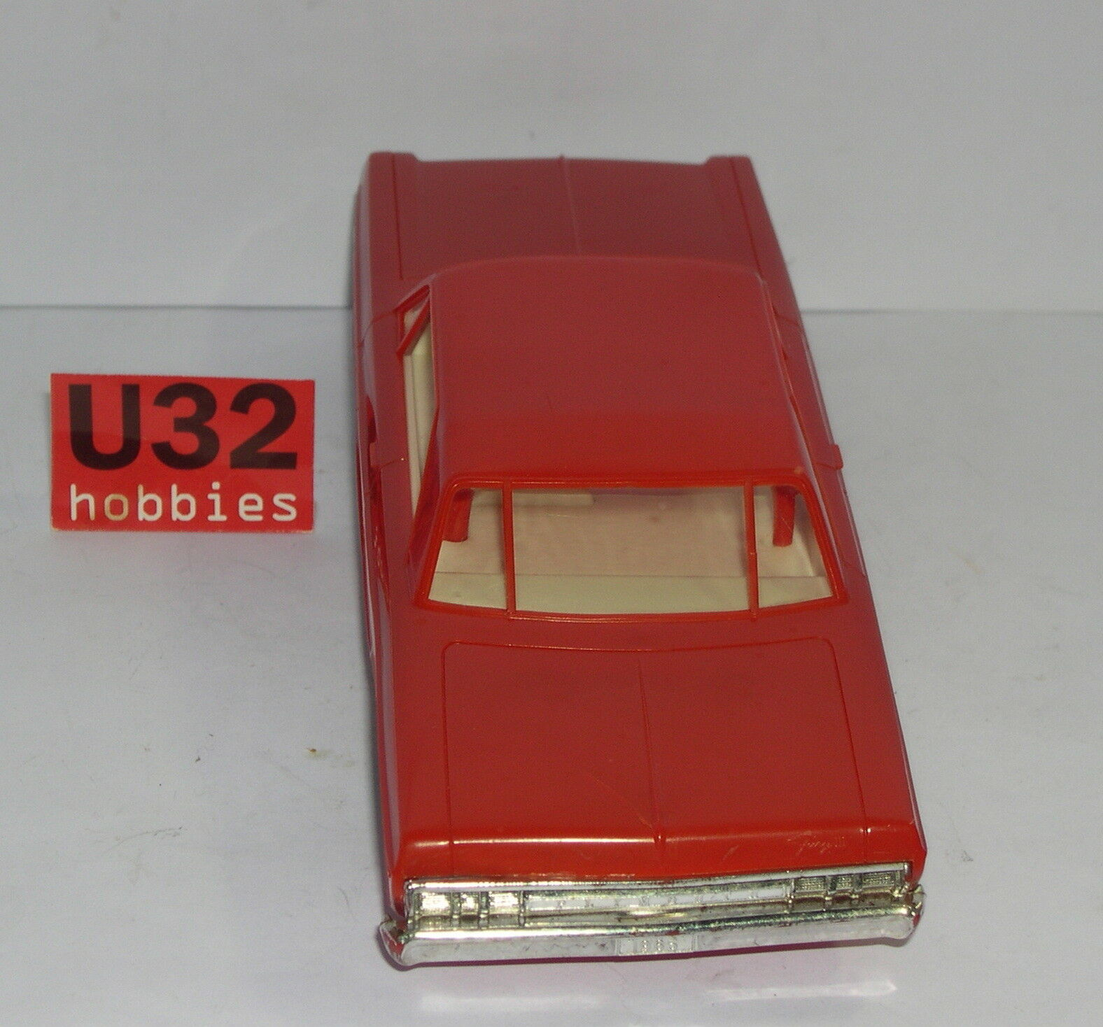 FN-IMC 203 PLYMOUTH FURY 1/32 COUPÉ ROT AUSGEZEICHNET ZUSTAND UNBOXED 1/32 FURY 05e7f0