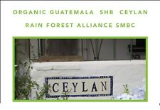 2 lbs Guatemala Organic Finca Ceylan SHG RFA SMBC Medium Roast Coffee Beans