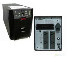 APC SUA1500 1500VA 980W 120V SMART-UPS POWER BACKUP TOWER USB  NEW BATTERIES--
