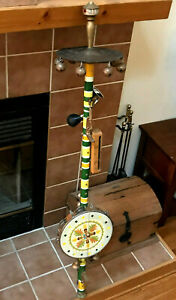 One-man Band-amazing Vintage Folk Art Instrument De Musique-michelob Antique-afficher Le Titre D'origine