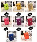 Women Wallet Purse PU Leather Coin Cell Phone Mobile Mini Shoulder Bag Crossbody