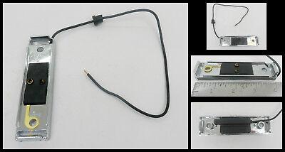 1 GRAY Snap in light bracket for 1x4 light Plastic self grounding LED trailer