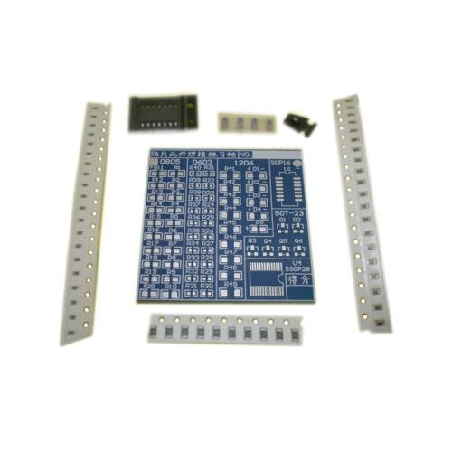 SMT SMD Component Welding Practice Board Soldering Practice DIY Kit