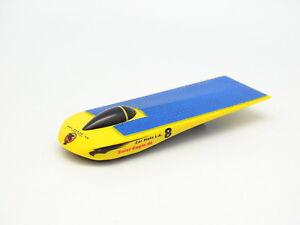 """Hot Wheels 1/64 - Solar Eagle III CAL State LA8 1997 Open Concept Solar Car - France - État : Occasion : Objet ayant été utilisé. Consulter la description du vendeur pour avoir plus de détails sur les éventuelles imperfections. Commentaires du vendeur : """"Trs bon état sans bote - 1/64"""" - France"""