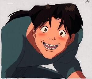 Golden-Boy-Anime-Cel-Douga-Animation-Art-Kintaro-Funny-Face-Lesson-3-Egawa