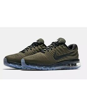 Details about NEW NIKE AIR MAX 2017 SZ 8 Green Cargo Khaki Black 849559 302
