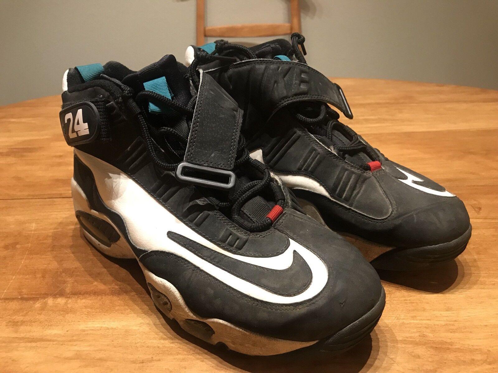 Nike Air Max 1 Ken Griffey Jr / Jr Griffey agua dulce / negro / Jr verde 9d40cf