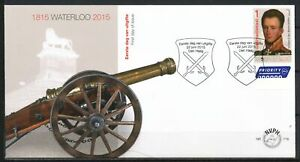 NEDERLAND-ONBESCHREVEN-FDC-E-716-1815-WATERLOO-2015