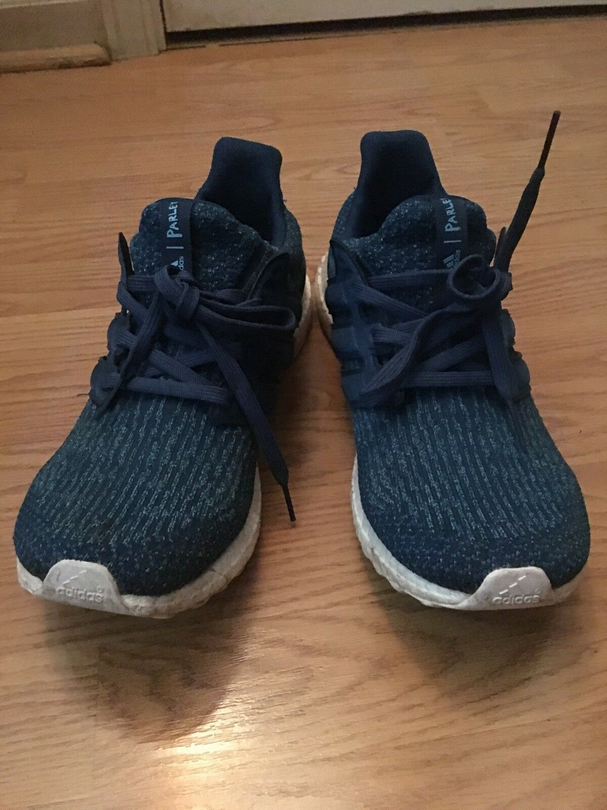 adidas ultra boost 3.0 parley Navy Blue Recycled Watter Bottles Size 11.5