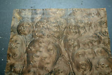 Walnut Burl Raw Wood Veneer Sheet 165 X 21 Inches 142nd Thick 8628 41