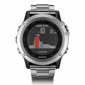 Garmin fenix 3 HR Titanium Multisport with Titanium and Sport Bands 010-01338-76