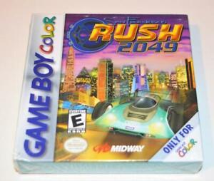 BRAND-NEW-SAN-FRANCISCO-RUSH-2049-NINTENDO-GAMEBOY-COLOR-GBC-SEALED-GAME