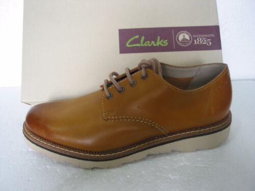 41 7 Walk Dfgffwqx Frelan Light New Extra Size Leather Shoes Tan Clarks wqg0xESI