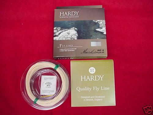 Hardy Fly Line Marksuomo WF5I GREAT nuovo
