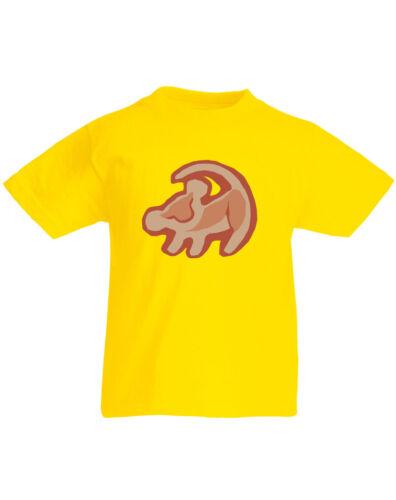 Simba Print The Lion King inspired Kid/'s Printed T-Shirt