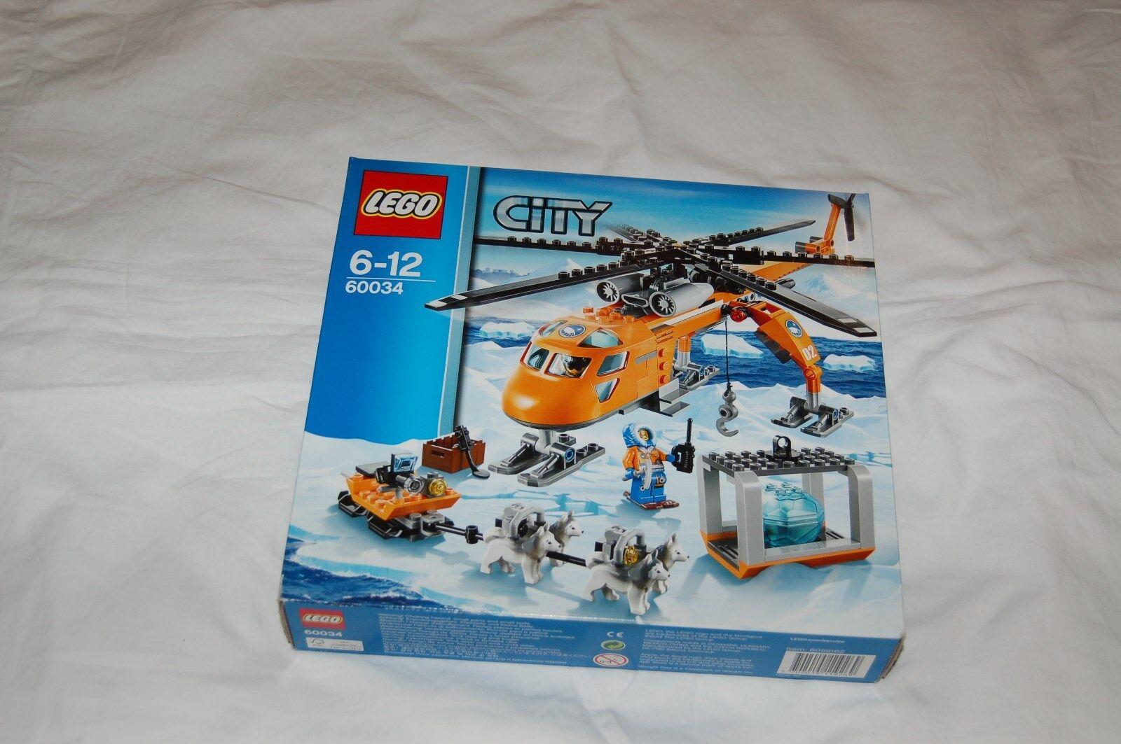 LEGO City 60034 ELICOTTERO ARTICO NUOVO  si ADATTA A 60036,60032,60195,60062,60196