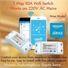 SH3 Sonoff Wifi Smart Switch Home Automation with Android iOS App & Amazon Alexa