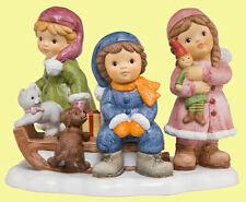 Goebel NM Nina & Marco Porzellanfigur Winter - Wir spielen im Schnee - 11746179