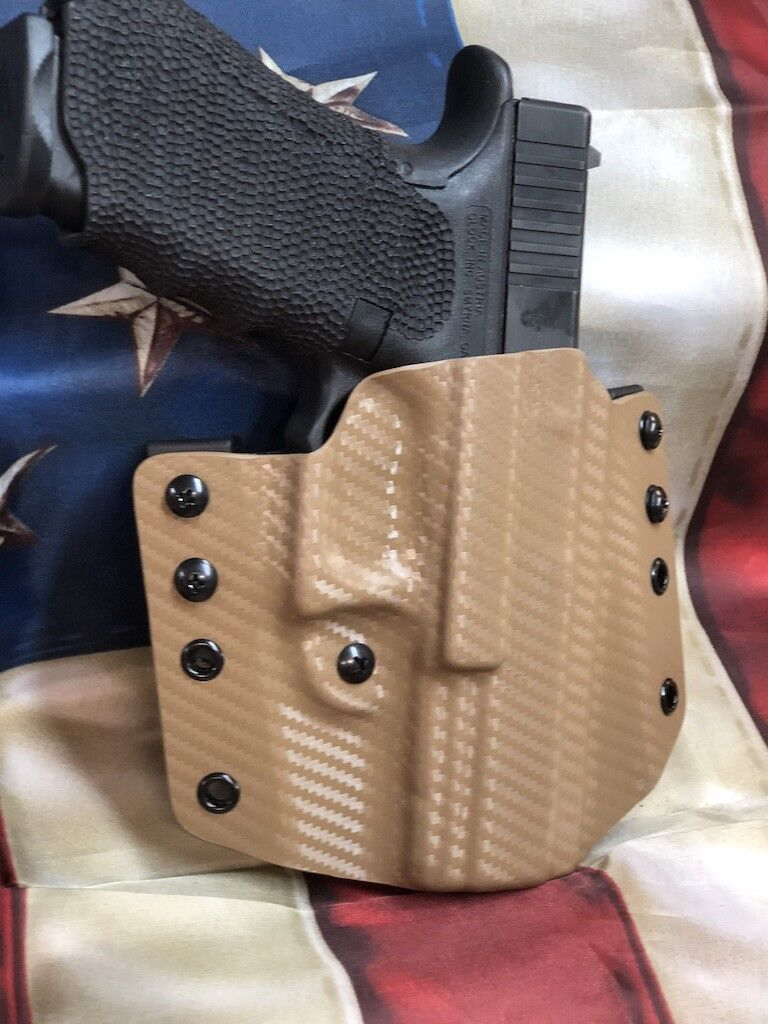 Pancake OWB Carbon Fiber Kydex Holster for Sphinx SDP Compact Model by 1441 Gear