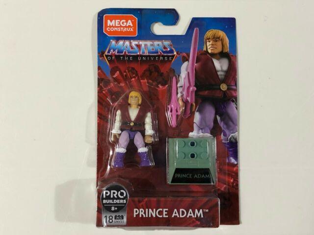 Mega Construx Masters of the Universe MOTU Series Prince Adam GNV33 18PCS