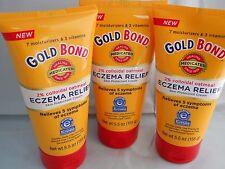 Gold Bond Eczema Relief Skin Protectant Cream, 5.5oz each ( 3pk bundle) 2018