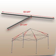 Coleman 10 x 10 Straight Leg Canopy/Gazebo 2 PEAK TRUSS Bars Replacement Parts & Coleman 10u0027 X 10u0027 Straight Leg Instant Shelter Tent 10 Canopy ...