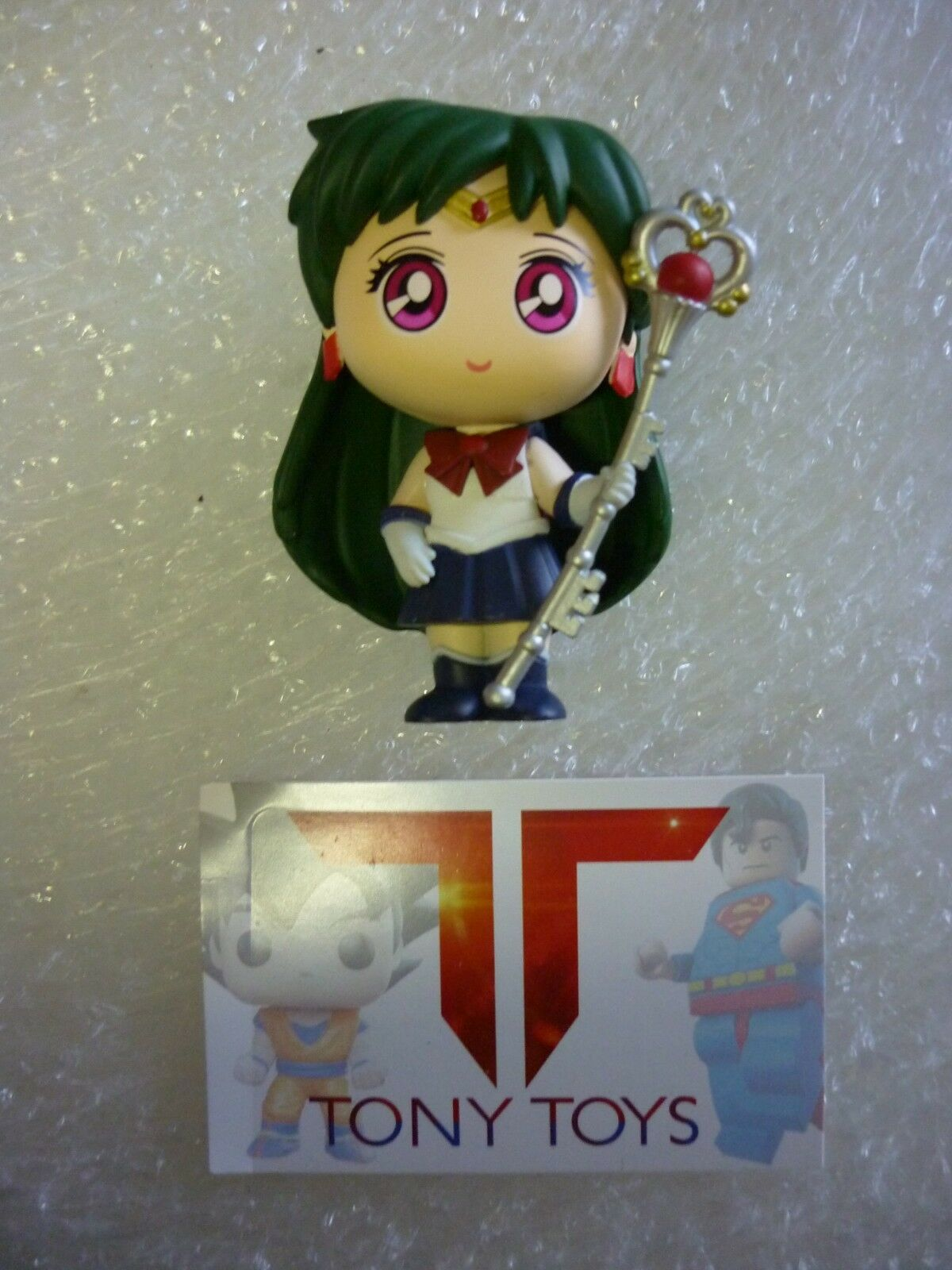 FUNKO MYSTERY MINIS MINIS MINIS SAILOR MOON WITH EXCLUSIVE SAILOR PLUTO WITH GARNET ROD 461372