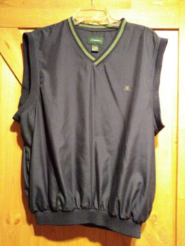Catalina Golf Wind Vest Blue Mens Size Large L
