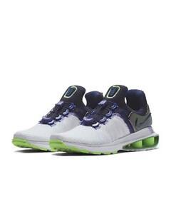 Nike-Shox-Gravity-Shoes-Women-039-s-Sizes-6-9-5-White-Fushion-Violet-AQ8554-105