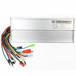 48V 1000W Electric Bicycle E-bike Scooter Brushless DC Motor Speed Controller 731938830291