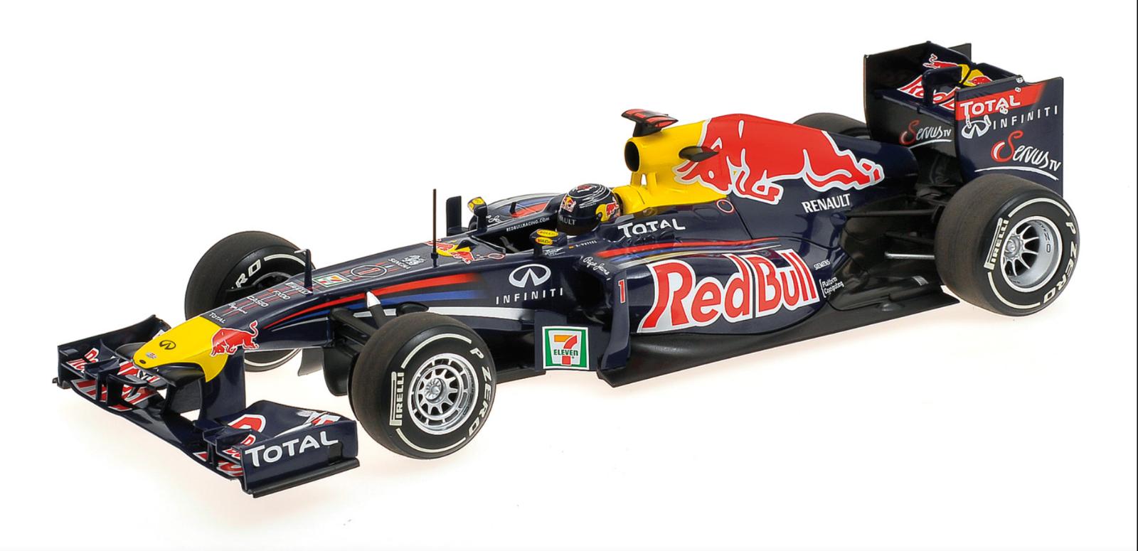 1 18 rouge Bull Renault RB7 Vettel Japan 2011 1 18 • Minichamps 110110301