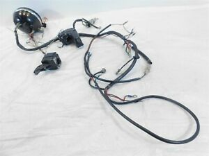 details about 1979 harley davidson ironhead sportster xlh 1000 main wire wiring harness 1984 xlh ironhead battery tray 1984 ironhead wire harness #13