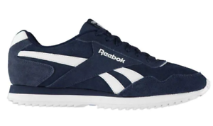 Details about Reebok Royal Glide Ripple Suede Trainers Mens UK 7 US 8 EUR 40.5 REF: 3117^
