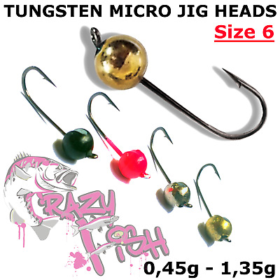 Jig Heads Owner Micro Size Precision 5pcs Ultra Light Lure Fishing LRF hto Drop