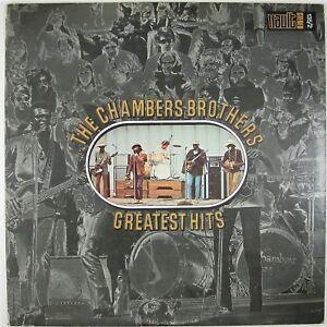 CHAMBERS-BROTHERS-Greatest-Hits-2LP-1970-BLUES-R-amp-B-SOUL-GOSPEL-NM-NM