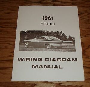 image is loading 1961-ford-car-wiring-diagram-manual-61