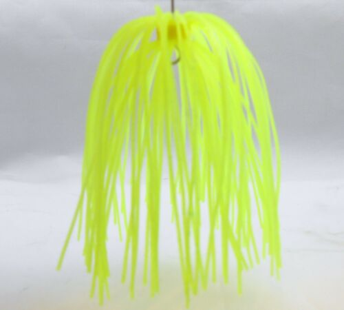 Bob4Bass Tour Grade Tungsten Skirted Punch Jig Chartreuse Slither Rig HIO003