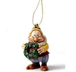 DISNEY TRADITIONS Happy NEU/OVP JimShore sieben Zwerge Figur Anhänger Ornament
