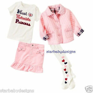 391099d07bcf NWT Gymboree Size 4 Homecoming Kitty Outfit