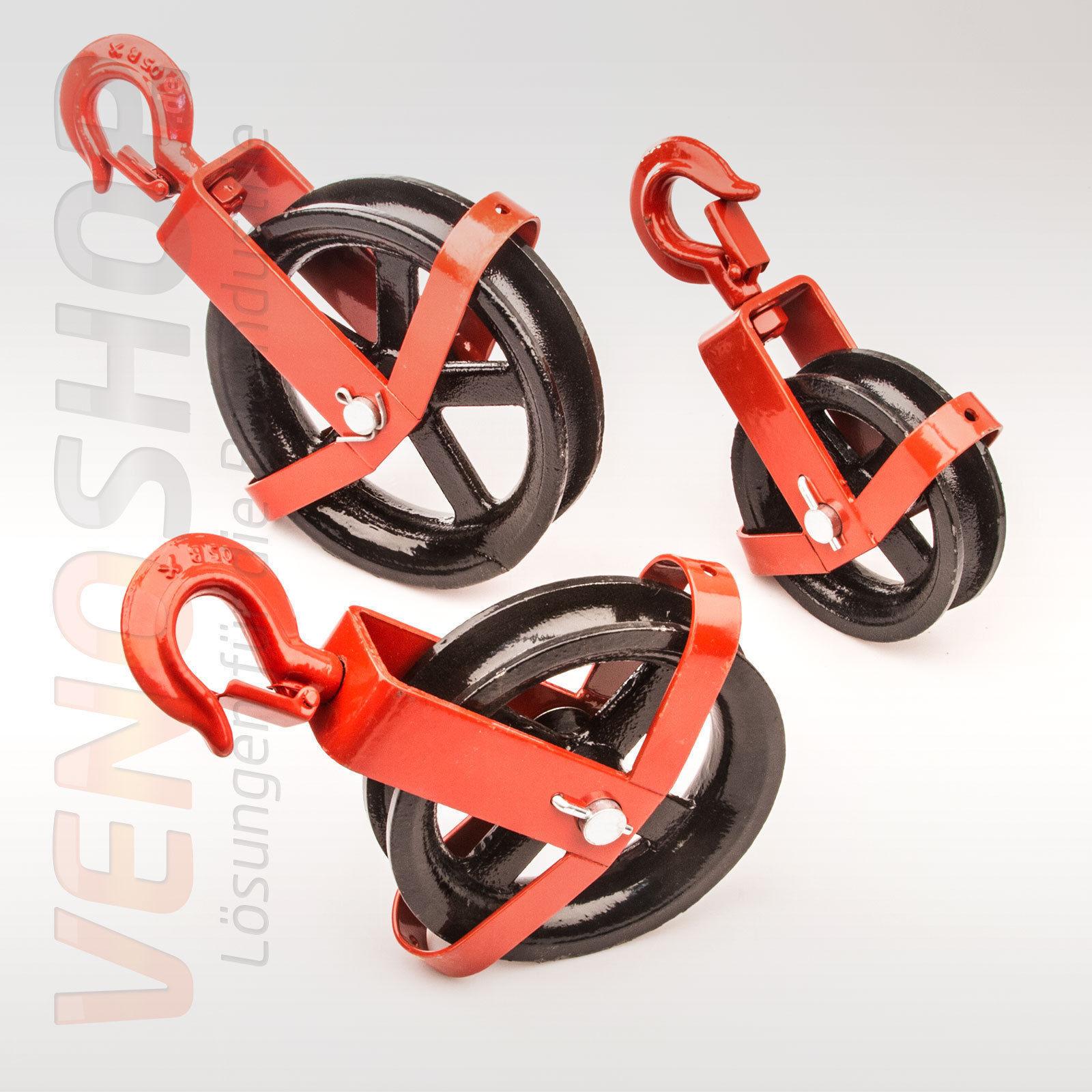 20mm JUTESEIL + UMLENKROLLE mit mit mit Haken Tauwerk Seilwinde Seilzug Seil Seilrolle 72ee0a