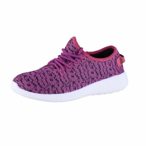 Air Star Damen Freizeitschuhe Sneaker Pink//Schwarz