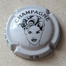 Capsule de champagne ARLETTE (la fée d') (7f. blanc et noir)