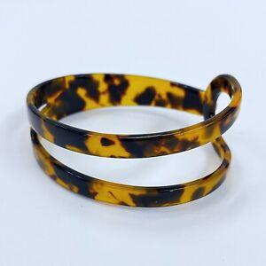 Blue Tortoise Cuff Bracelet