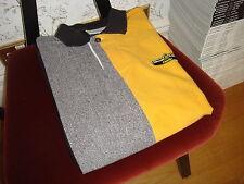 Men's Johnnie Walker Classic Cotton Polo Shirt Greg Norman Reebok Golf Large L